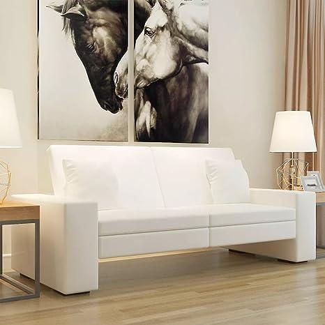 Luckyfu Diseno Moderno Mobiliario Sofas Sofa Cama de Cuero ...