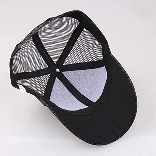 DEELIN Sombrero para Las Mujeres Chica Cola De Caballo De BéIsbol Cap Lentejuelas Brillante Desordenado Bollo Snapback Hat Sun Caps: Amazon.es: Ropa y ...