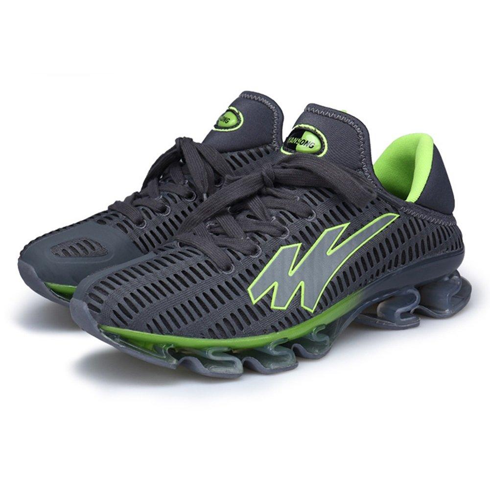 New Zapatillas de Deporte para Hombres Primavera/Verano/Otoño Confort Deportes Zapatos Casuales De Gran Tamaño Hombres Respirables Zapatillas de Correr/Zapatos de Senderismo EU Size 46 EU|Gris