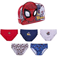 Cerdá - Pack Calzoncillos Niño de Spiderman con Licencia Oficial Marvel