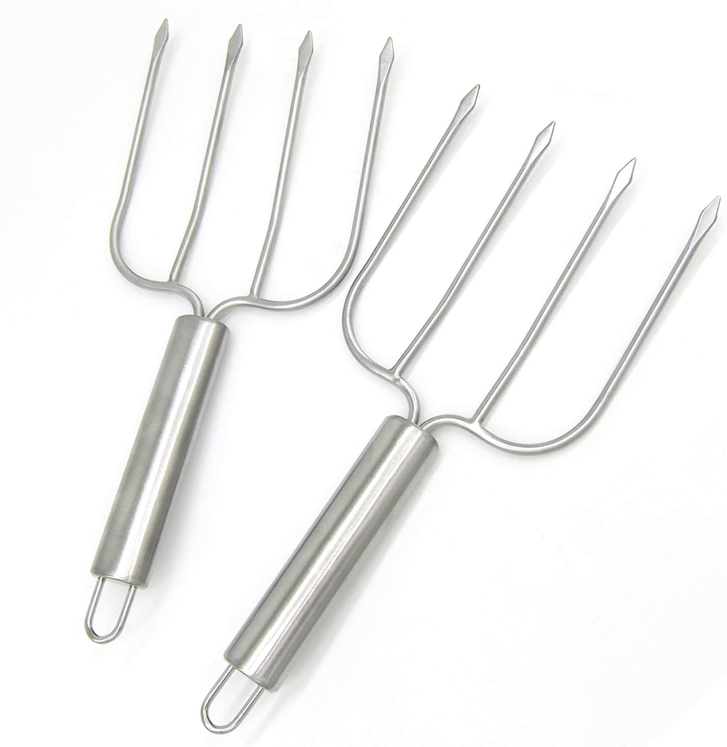 KAYCROWN Turkey Lifter Forks Set of 2 Stainless Steel Turkey Lifters Turkey and Poultry Lifters Turkey Claws Carving Fork