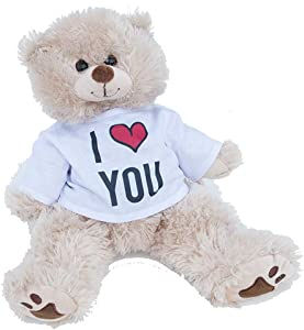 The Personalized Gift Company I Love You / Dat Azz Doe Bear (16 Inch, I Love You)