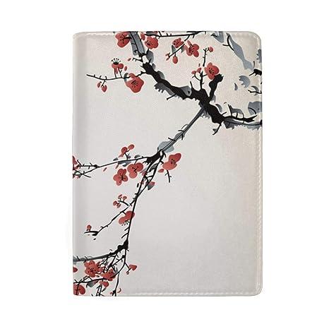 Realista Sakura Blossom Birds Bloqueo Imprimir Funda para ...