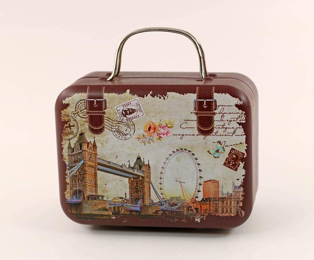 1/6 Birdge Doll Dollhouse Miniature Toy Trunk Box Suitcase Luggage Traveling Case my minidream