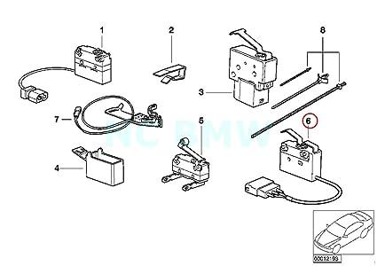 Amazon Com Bmw Genuine Dead Center Check Micro Switch Automotive