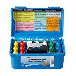 Taylor Technologies K-2005 Pool Test Kit, Complete Kit