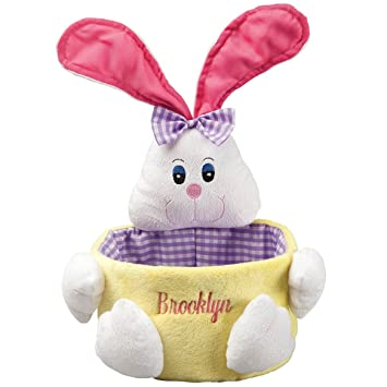 Amazon miles kimball personalized easter basket home kitchen miles kimball personalized easter basket negle Gallery