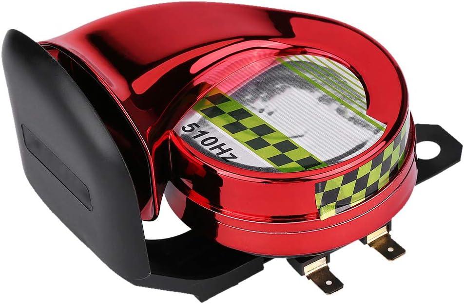 LKW Auto sehr stark f/ür Motorrad Scooter Trompete 12 V Hupe elektrisch Schnecke Horn 110 dB