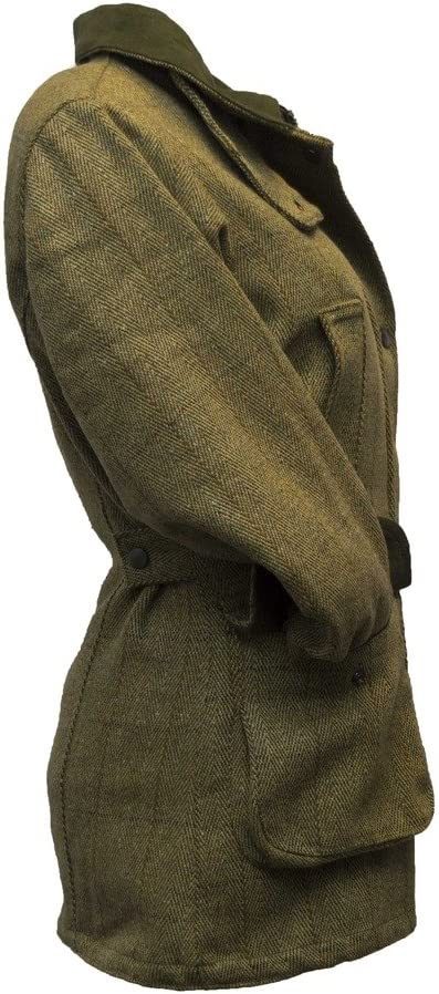 Colore verde salvia chiaro Giacca country da donna in tweed,/adatta per la caccia