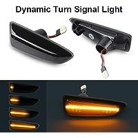 ahanzhu indicatore di direzione a Specchio a Specchio sequenziale a LED indicatore di direzione a Specchio retrovisore