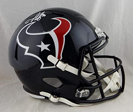 Image Unavailable. Image not available for. Color  Jadeveon Clowney  Autographed Houston Texans Full Size ... 04bef15d3