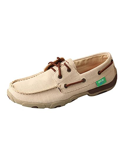 6f661141d03 Amazon.com  Twisted X Women s Eco TWX Driving Moccasins Shoe  Sports ...
