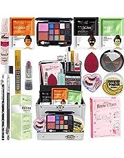 Maleta + Kit Maquiagem Brinde Base Ruby Rose Mimo Glow Pink