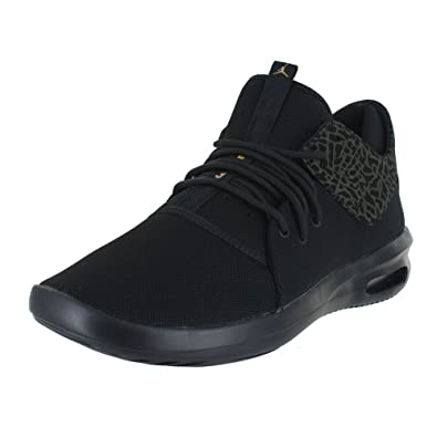 5dbbe4159b7b Image Unavailable. Image not available for. Color  Nike Mens AIR Jordan  First Class Black Metallic Gold ...