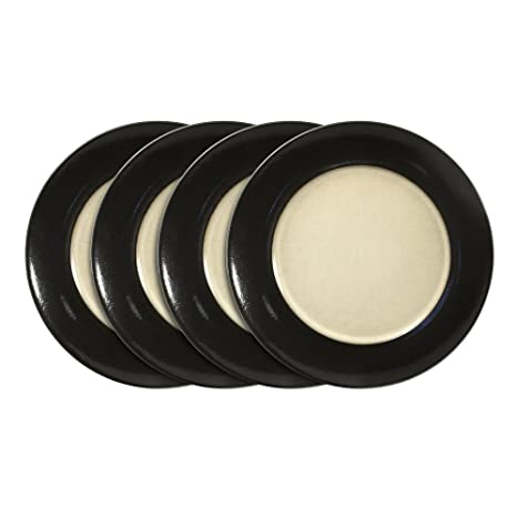 Gourmet Basics Belmont Black Salad Plate 8-1//2-Inch