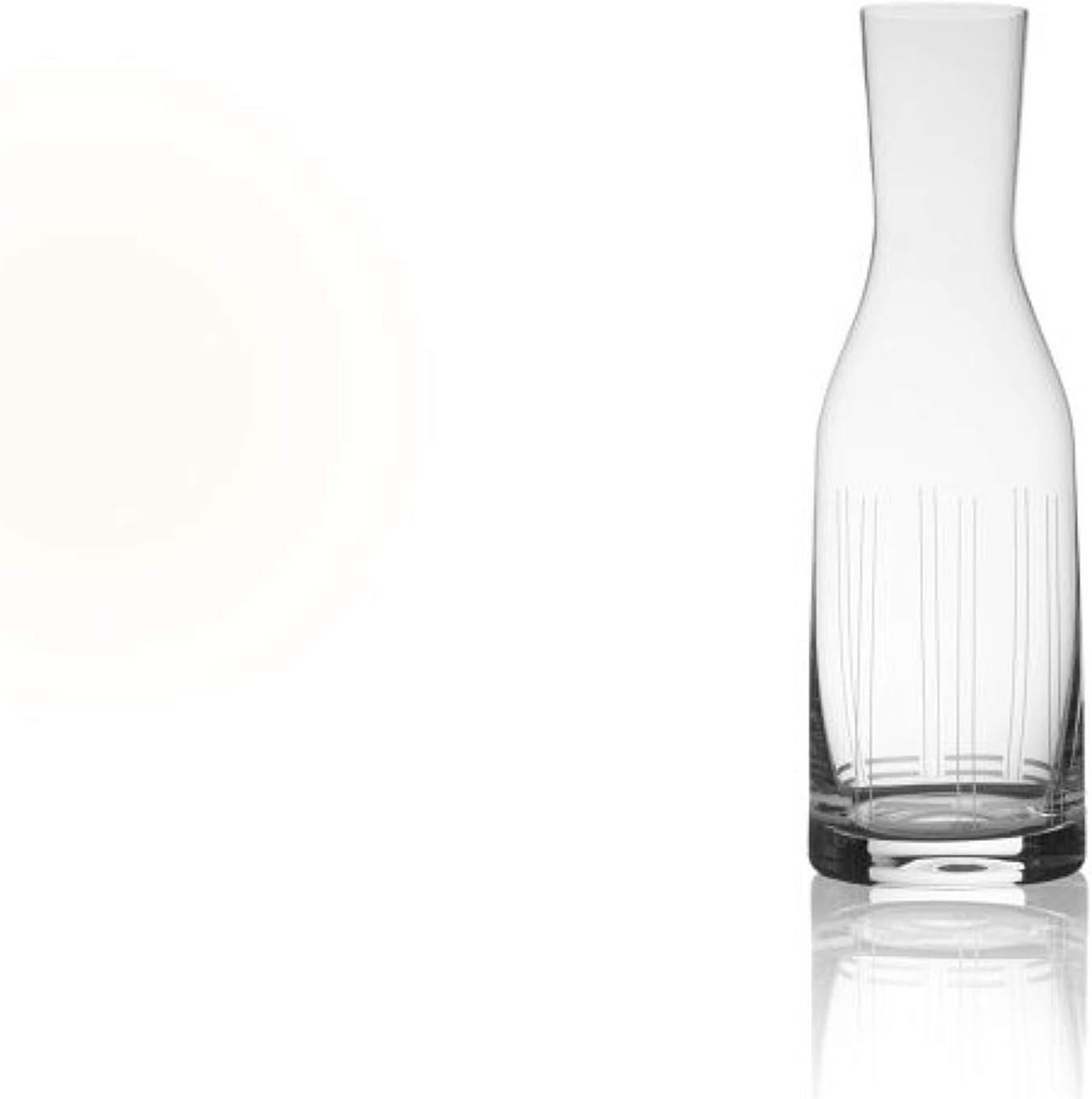 Mikasa Berlin Glass Carafe, 40-ounce, Clear