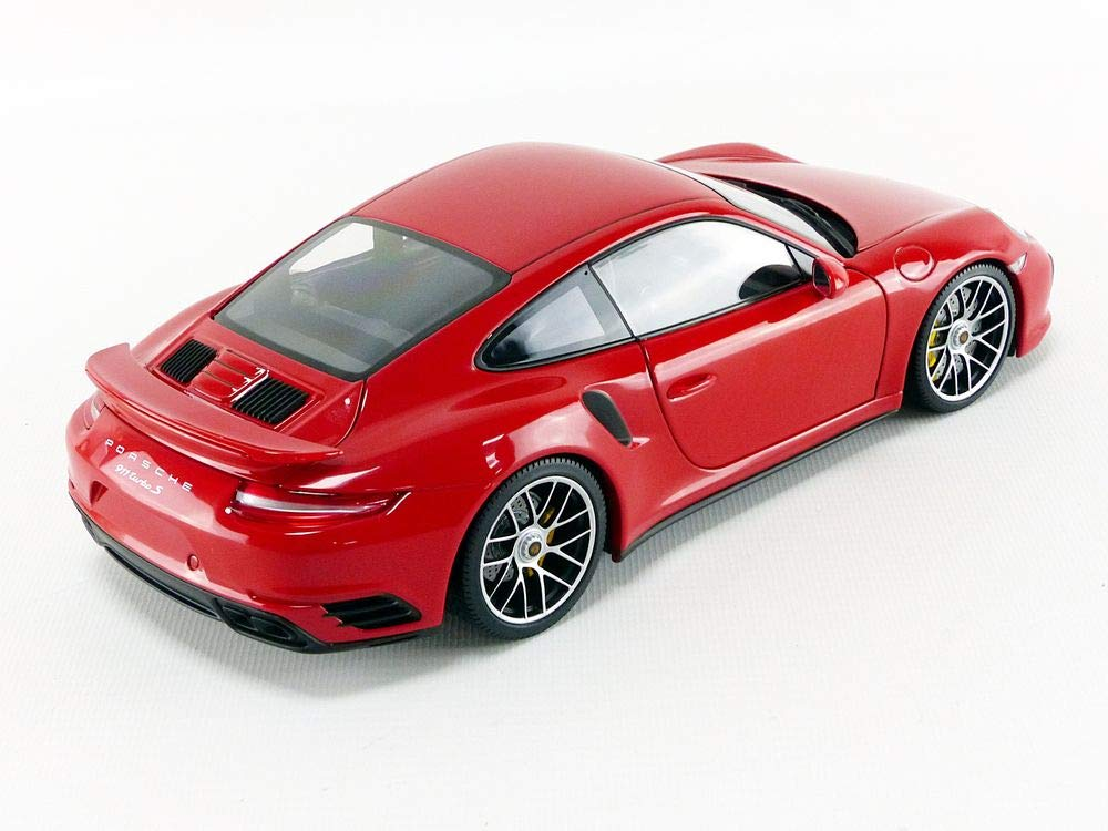 Amazon.com: Minichamps 2016 Porsche 911 Turbo S Red Limited Edition to 504 Pieces Worldwide 1/18 Diecast Model Car 110067122: Toys & Games
