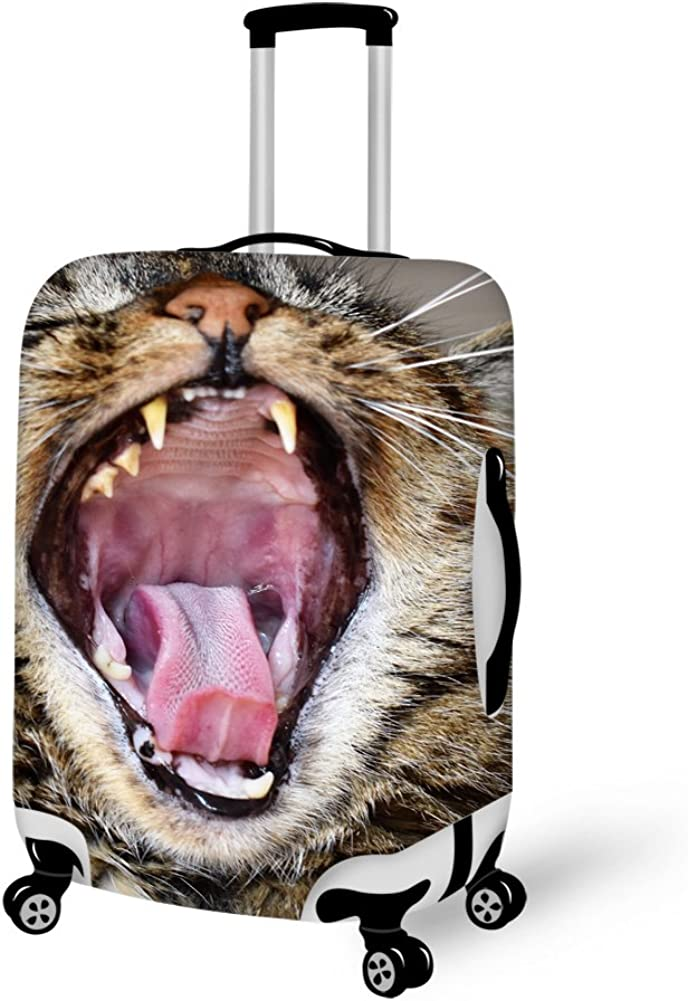 Bigcardesigns Roaring Animals 18-30 Luggage Protective Covers
