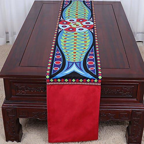 Ybx Home Deco Table Runner Chemin De Table Vieux Linge De Table Cotton Decor Salon Table Idée Décoration Couverture Table Drapeau De Table Décor