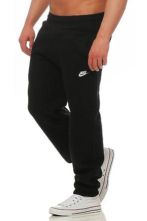 Nike, pantaloni della tuta da ginnastica da uomo felpati