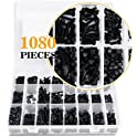 Vigrue1080-Pieces M2 M3 M4 Alloy Steel Socket Head Cap Screws Nuts Set