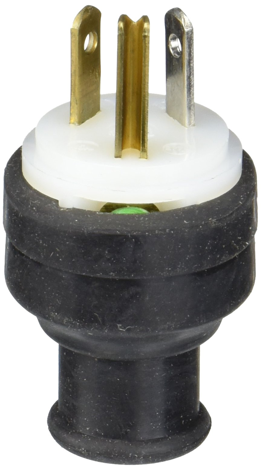 Hubbell HBL5929 Plug, 15 amp, 277V, Nema 7-15P