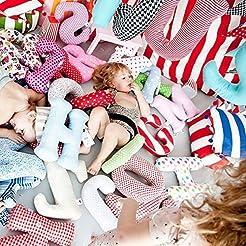 alphabet letter pillow, kids room decor,...