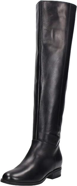 Guess Scarpe Donna Stivale sopra Il Ginocchio Boot Pelle