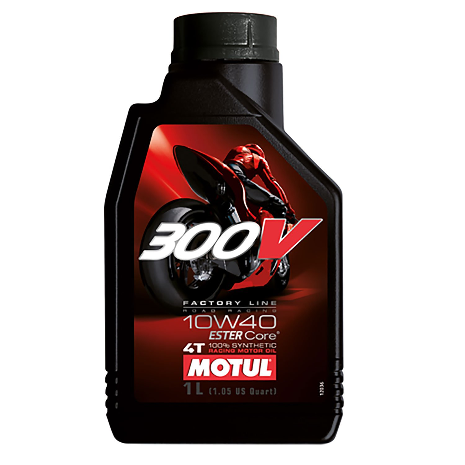Motul 300V Factory Line Ester Core Fully Synthetic 10W-40 Petrol Engine Oil for Bikes (1 L) product image