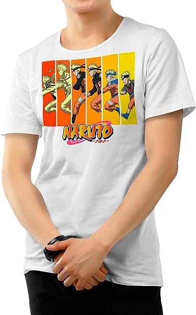 Camiseta Serie Manga y Anime Hombre - Unisex Naruto: Amazon.es: Ropa y accesorios