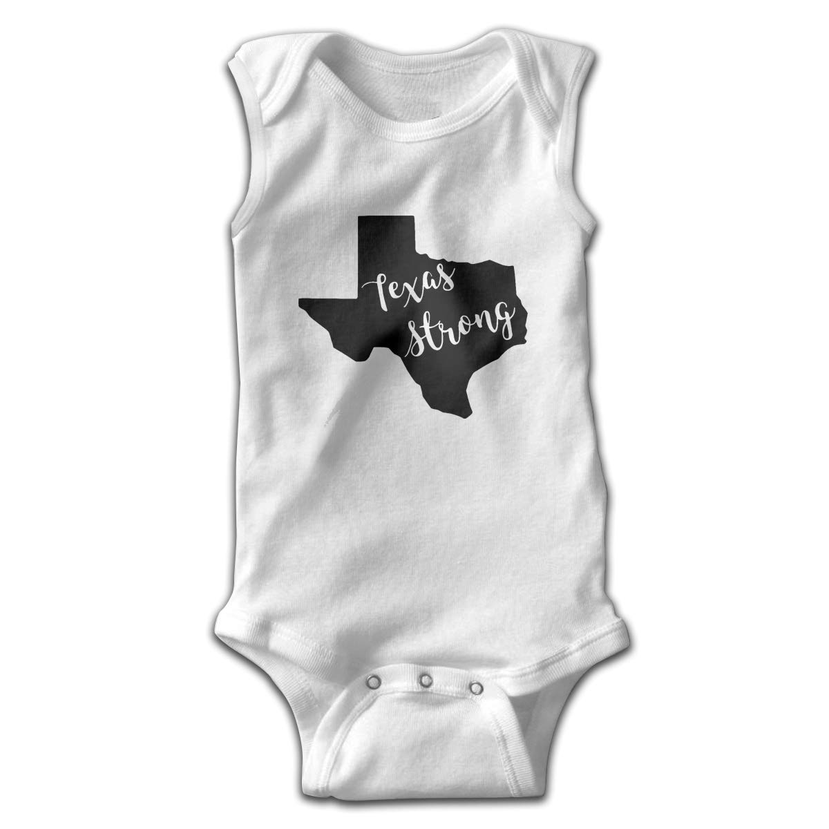Texas Strong Toddler Baby Clothes Bodysuit Sleeveless Summer Novelty Funny Gift for Baby