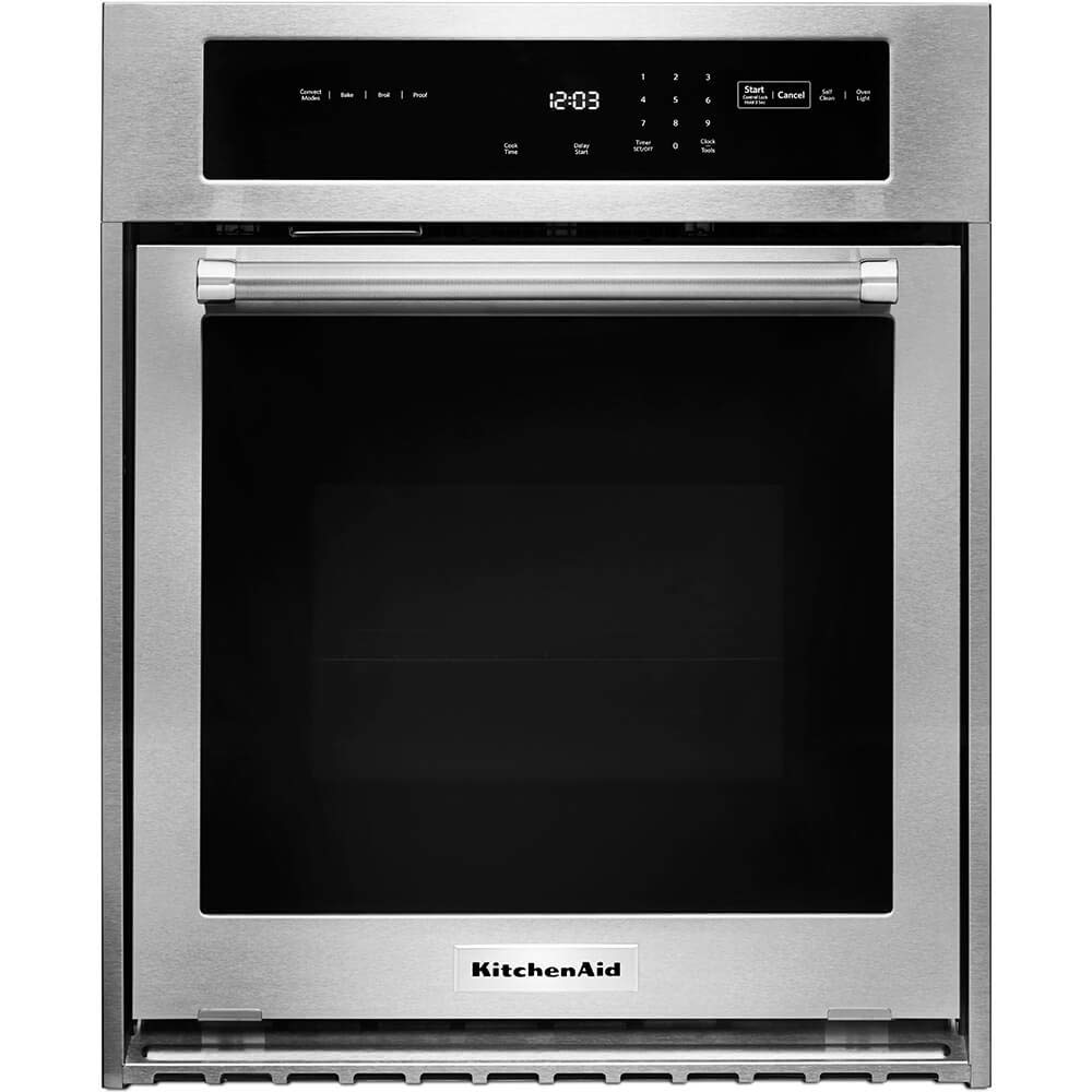 KitchenAid KOSC504ESS 24 Inch Stainless Steel Single Wall Oven