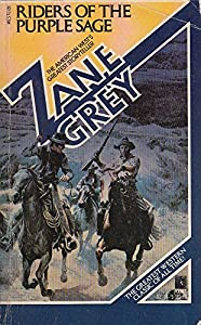 Paperback Riders of the Purple Sage Book