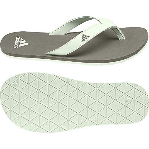 sports shoes 82116 2a377 Adidas Eezay Essence, Ciabatte Uomo, Marrone (Trace Cargo S17aero Green S18