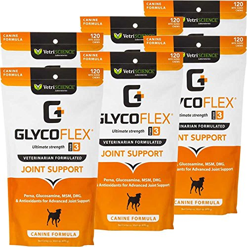 6PACK GlycoFlex 3 Canine (720 Soft Chews)
