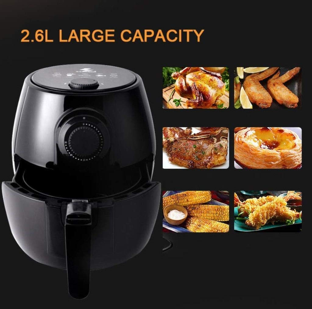 Four /électrique Fryer Air grande capacit/é des m/énages multi-fonction Grilled Non Fryer 1200W