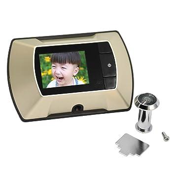 Gosear Mirillas digitales para puertas, cámara mirilla al electronica (Pantalla 2.4 de