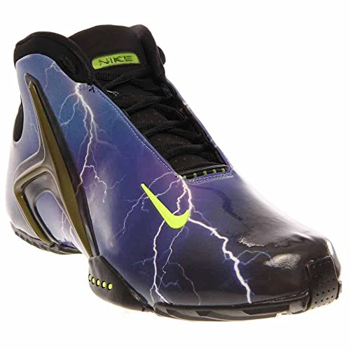 302081ba5325 Nike Zoom Hyperflight PRM Mens Ultra Violet Volt Black Athletic Sneakers