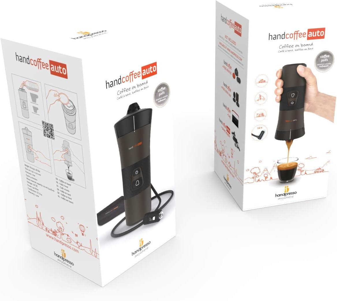 Handpresso 48264 - Máquina de café portátil con dosis Senseo para coche (12 V): Amazon.es: Hogar