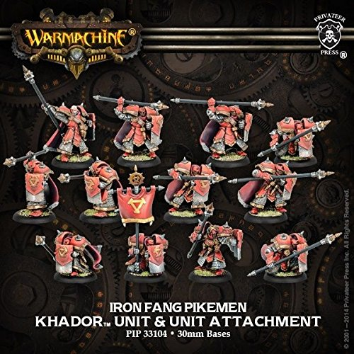 Warmachine: Khador: Iron Fang Pikemen / Black Dragons Unit (PIP33104) NEW ^G#fbhre-h4 ()
