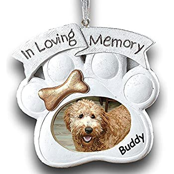 Amazon.com: In Loving Memory Pet Memorial Ornament ...