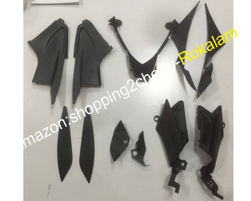 Injection molding Red Black Flame Fairing Set For Yamaha YZF R6 2003 2004 YZF600 03 04 YZF-R6 ABS Plastic Fairings