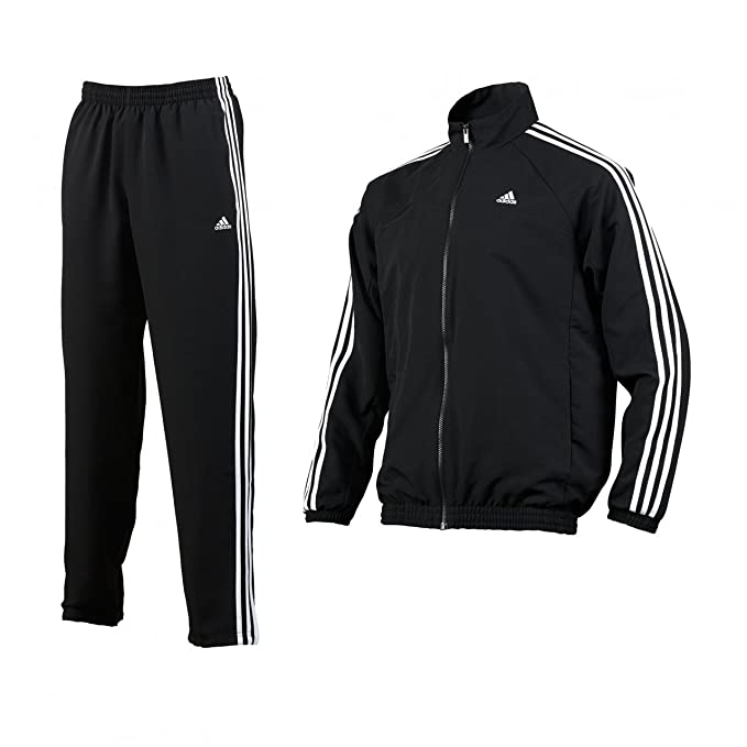 official photos ea50e cd179 adidas, Tuta da Uomo, Nero, 5 / Kurz: Amazon.it: Sport e ...