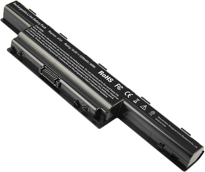 ARyee Replacement Laptop Battery AS10D31 AS10D51 AS10D3E AS10D41 AS10D73 AS10D81 Laptop Battery for Acer Aspire V3-571G V3-771 5742 5733 E1-571 5750 5750G 5742z 5755G V3-771G 7551 5740 V3-571 4741