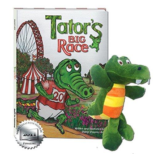 (Tator's Big Race Hardback Book with Plush Storybook Character - Tator the Gator)