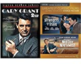 Cary Grant North By Northwest Hitchcock + The Amazing Adventure / Penny Serenade & TMC Strangers on A Train DVD movie Collection