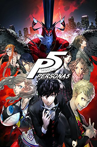 CGC Huge Poster GLOSSY FINISH - Persona 5 PS4 PS3 - EXT763 )