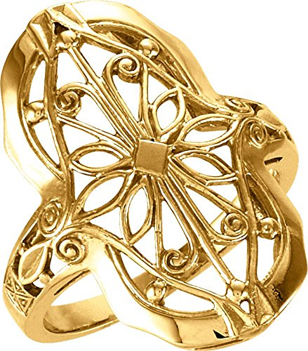 Ring in 14k Yellow Gold ( Size 6 ) ()