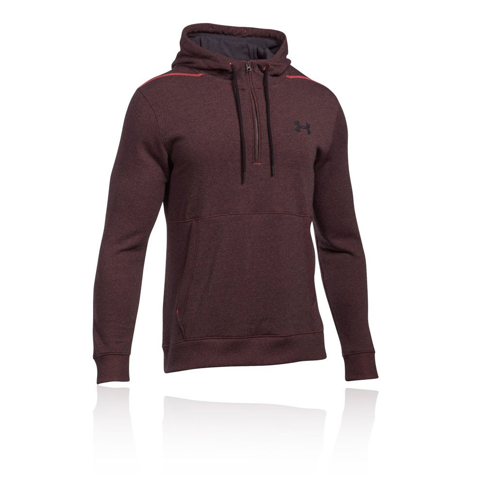 Under Armour Threadbourne 1 2 Zip Hoodie Training Top - AW17