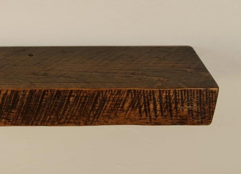 Antique Solid Reclaimed Wood Floating Shelves